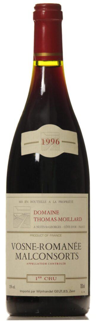 Vosne Romanee Les Malconsorts 1996 T. Moillard 1-er cru-0