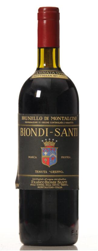 Biondi Santi Tenuta Greppo Annata Brunello di Montalcino 1998-0