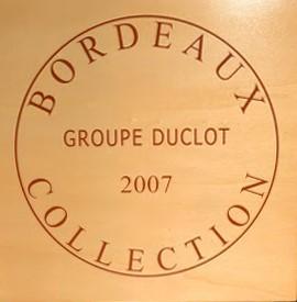 Groupe Duclot Bordeaux Prestige Collection Case 2007 Case of 9 btl.-0