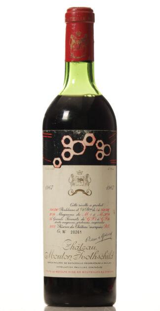 Mouton Rothschild 1967-0