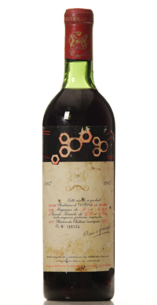 Mouton Rothschild 1967 ts-0