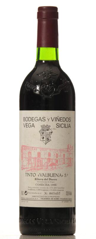 Vega Sicilia 1996 Valbuena 5 -0