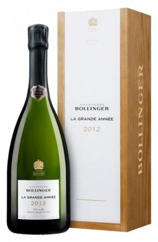 Bollinger La Grande Année 2012 Case of 1 btl.-0