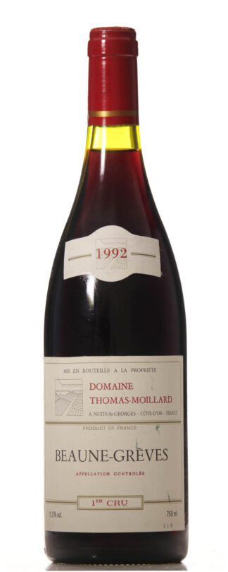 Beaune Greves 1992 T. Moillard Premier Cru-0