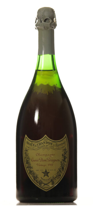 Dom Perignon 1962 (clear color, deposits on the glass)-0