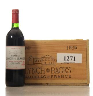 Lynch Bages 1985 Case of 12 btl.-0