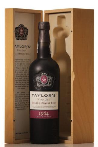 Taylor's Very Old Single Harvest Port 1964 Case of 1 btl.-0