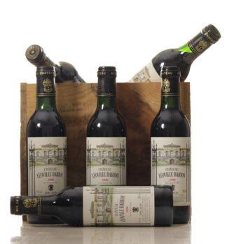 Leoville Barton 1990 Case of 24x 0.375l bottles-0